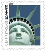 Statue of Liberty Forever stamp