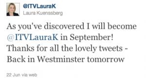 Laura Kuennsberg on Twitter