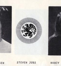 Steven Jobs Freshman Picture