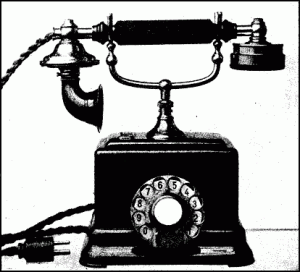 Telephone: Useful, but don't trust it.