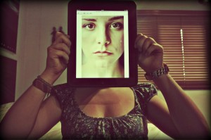 Ipad Face by Camila Andrea