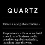 Quartz website
