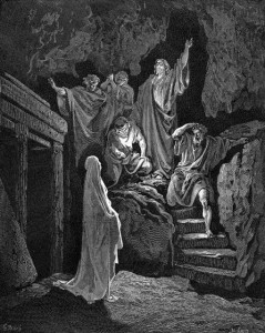 Resurrection of Lazarus by Gustave Doré